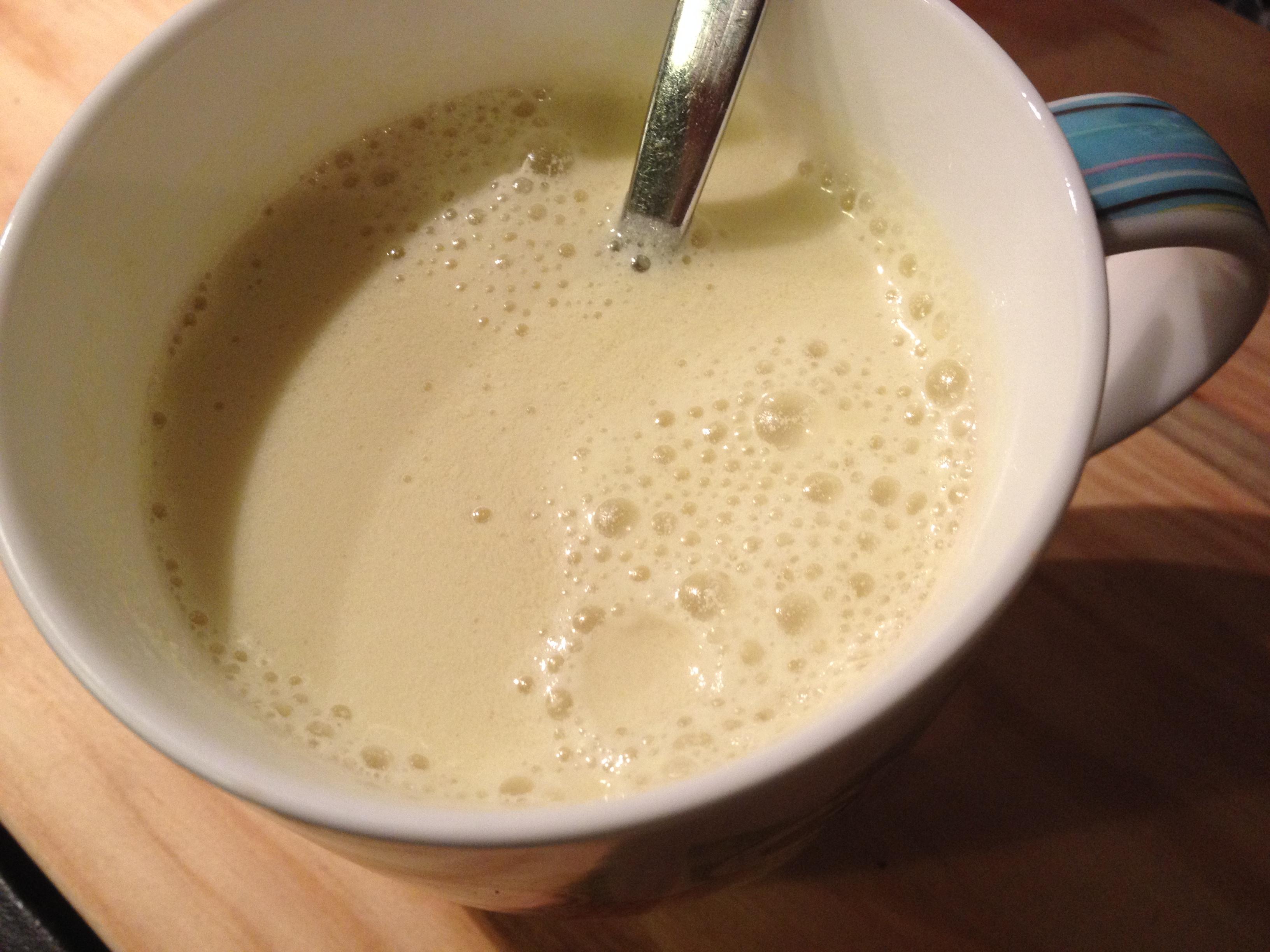 melk met kurkuma